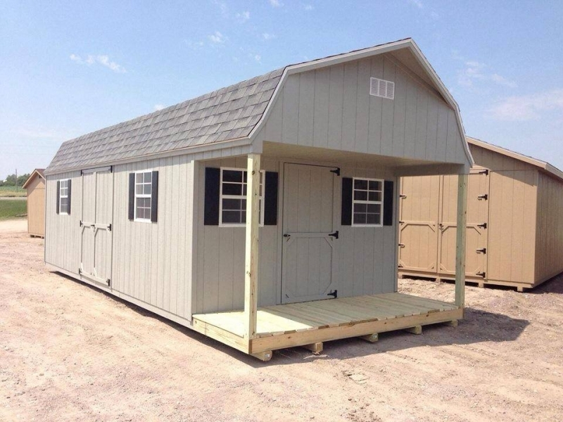 Wooden Portable Barns : Wooden sheds high barn portable storage for sale in