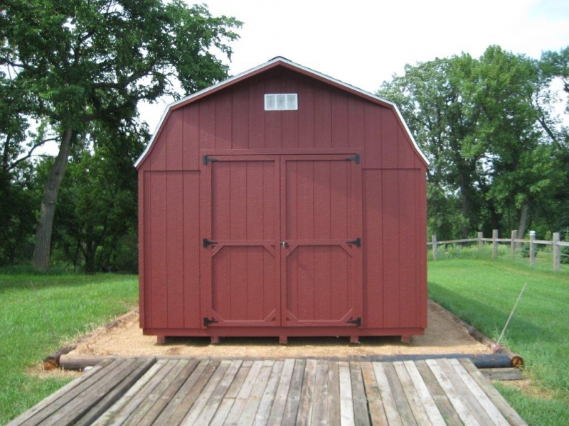 Wooden Sheds: High Barn Portable Storage Sheds for Sale in ...