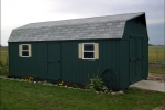 localy-built-high barn-shed