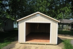 Wooden Ranch Garage Shed in MN, ND, IA