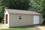 14x30 Wooden Storage Shed in MN
