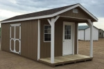 Buy a Shed with a Porch in ND, IA, NE