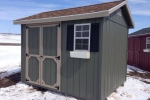 8x10 Wooden Shed For Sale in ND, IA, SD, MN, NE
