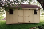 10x16 Prefab Wooden Shed in Detroit Lakes MN