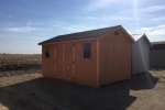 Stained Portable Shed in NE, SD