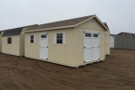 Prefabricated Wooden Sheds Amish Style ND, MN, IA, NE