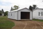 Ranch Metal Garage