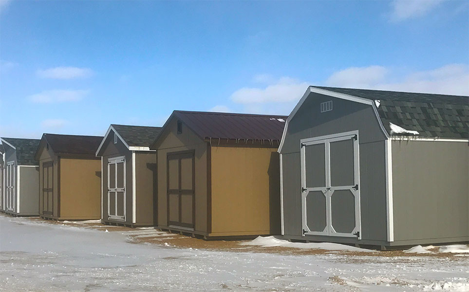 Storage sheds company in north dakota