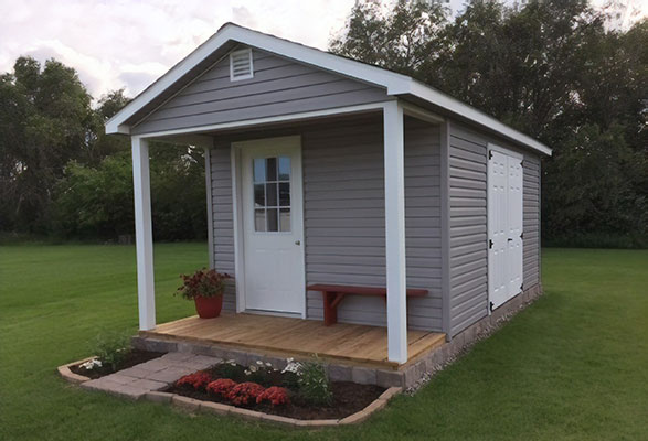 Ranch cabin shed for sale