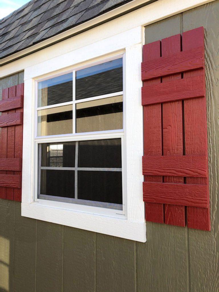 Slat shutters