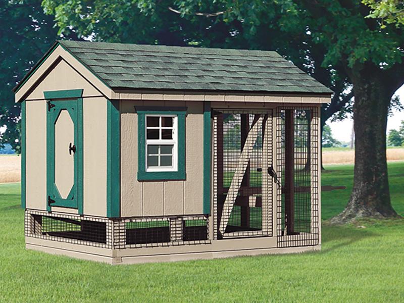 A frame chicken coop for sale in north dakota 2