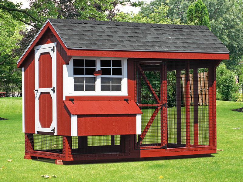 Quaker style chicken coop for 12 14 chickens for sale in minnesota