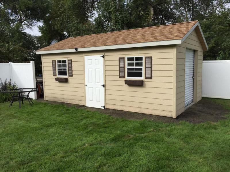 Rent to own prefab garages