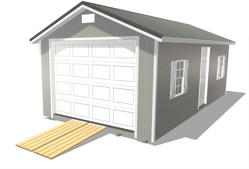 Prefab garages for sale from northland sheds ranch shed style