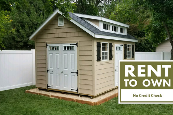 Rent to own sheds