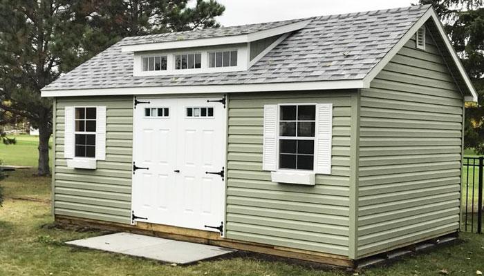 Vinyal backyard sheds for sale