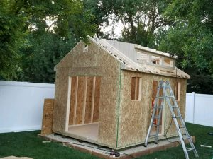 Build sheds onsite