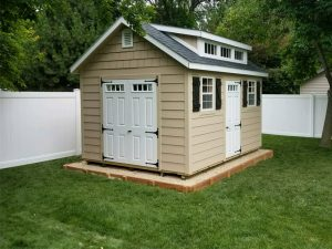 Cusom shed built on site ideas