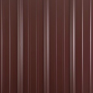 Metal shed colors burgandy