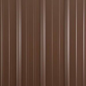 Metal shed colors cocoa brown