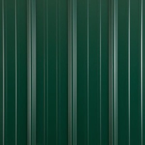 Metal shed colors forest green