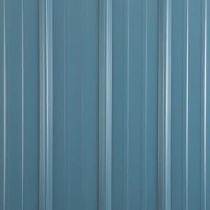 Metal shed colors hawaiian blue