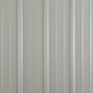 Metal shed colors light gray