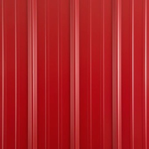 Metal shed colors patriot red