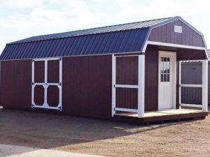 Custom wood cabin shed pricing