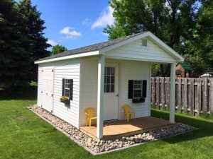 Covered porch sheds ideas nd