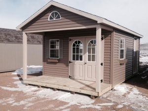 Sheds with covered porches