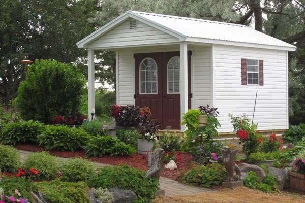 Sheds with covered porches for your property free quote for Sheds with porches for sale