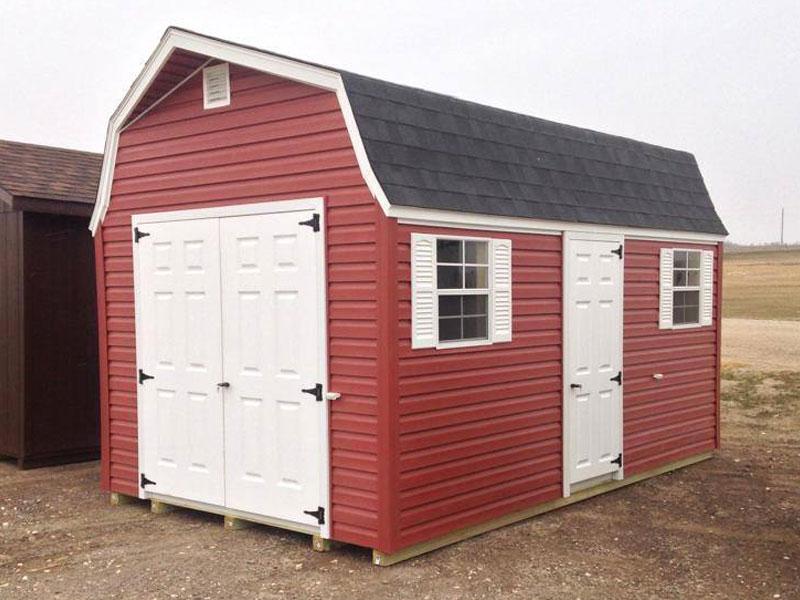 Barn storage shed vinyl