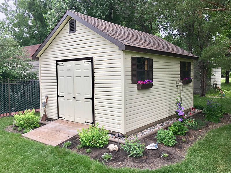 Beautiful storage shed for sale nd