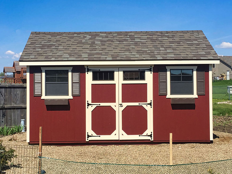 Gable classic storage shed for sale