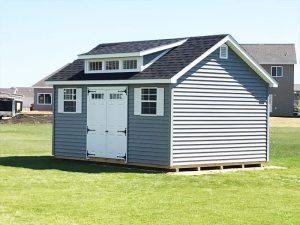 Buy backyard sheds with vinyl siding