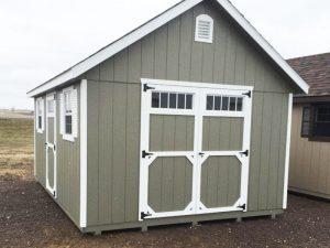 Classic garden shed