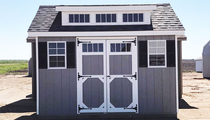 Wooden garden shed for sale in nd