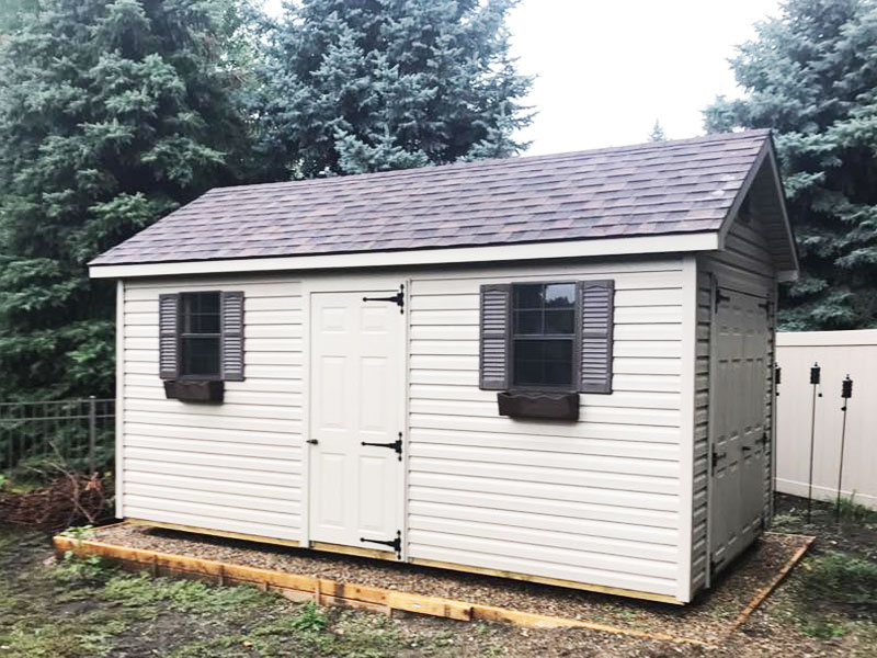 Vinly classic sheds with essentials bundle