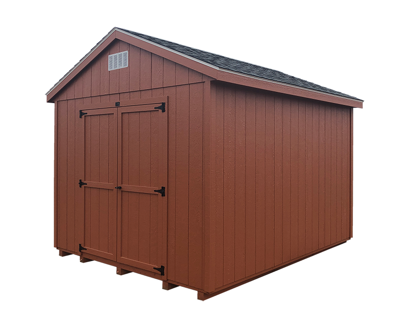 Economy ranch wood storage sheds for sale near me