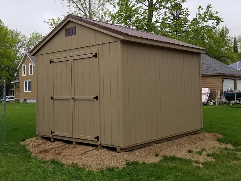 Wood storage sheds for sale in minnesota
