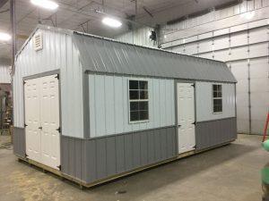 Custom high barn metal shed in fargo