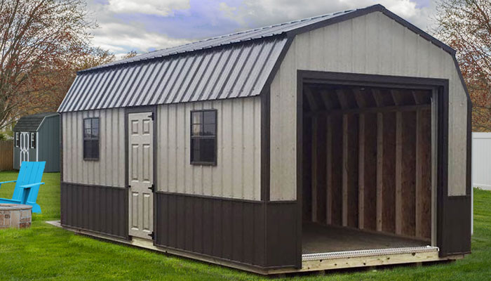metal sided sheds well built outdoor sheds with lasting metal siding