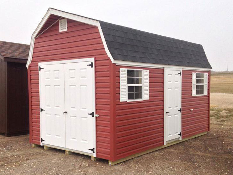 Barn storage shed vinyl