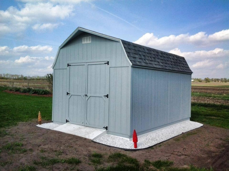 High Barn Wooden Sheds Quality Built Wooden Sheds For