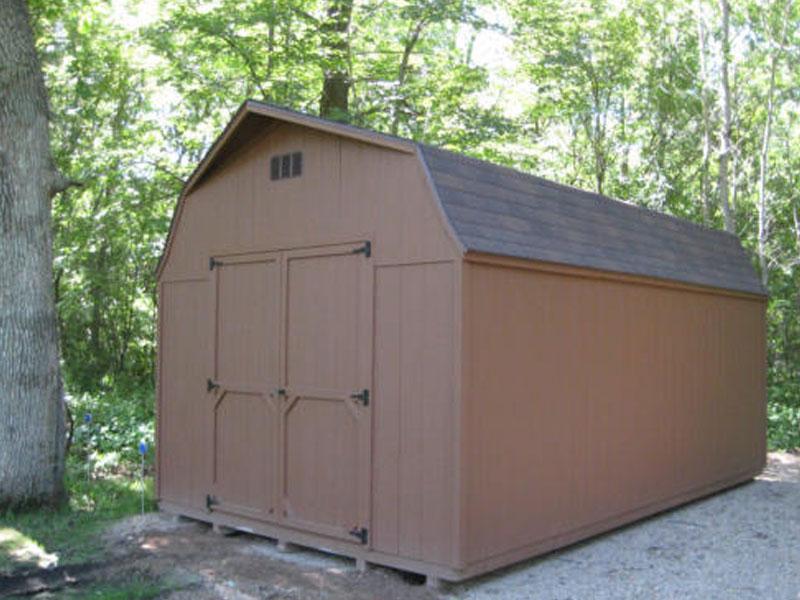 High Barn Wooden Sheds  Quality Built Wooden Sheds for ...