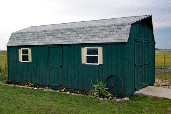 High barn portable sehds nd