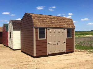 Custom barns in wood siding for north dakota