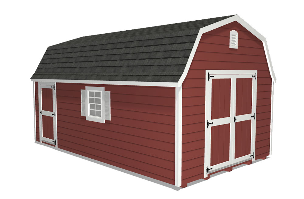 High barn shed with essentials bundle