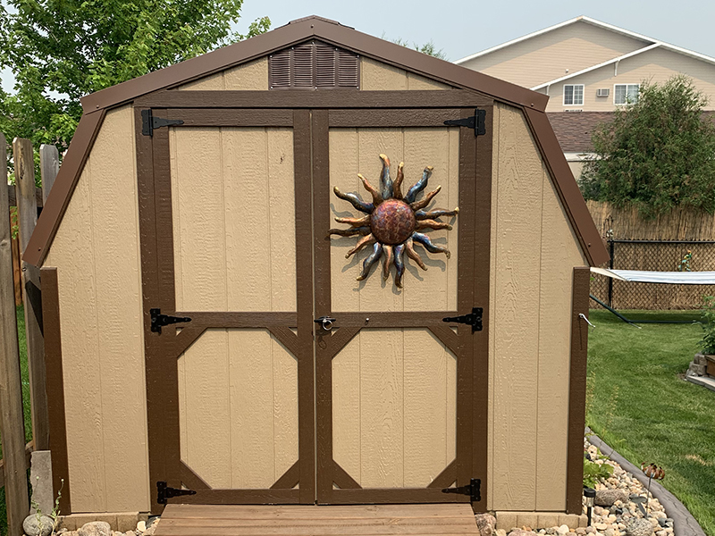 Buy a low barn shed